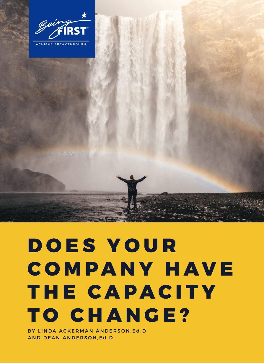 Does Your Company Have the Capacity to Change