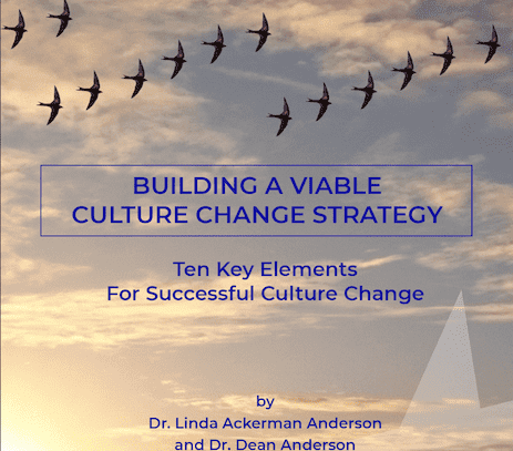 10 Key Elements of a Viable Culture Change Strategy