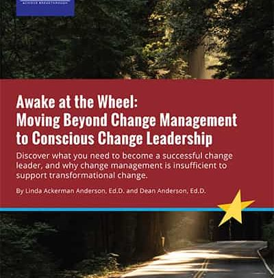 Moving Beyond Change Management to Conscious Change Leadership