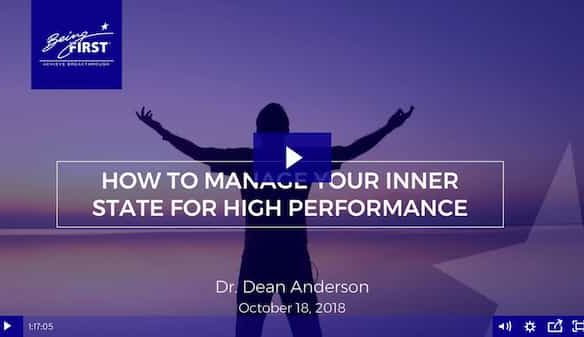 High Performance Habits: Managing Your Inner State