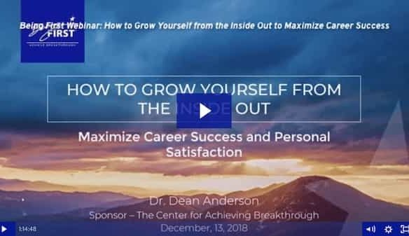 How to Maximize Personal Development, Career Success and Satisfaction