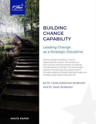 Leading Change As a Strategic Capability