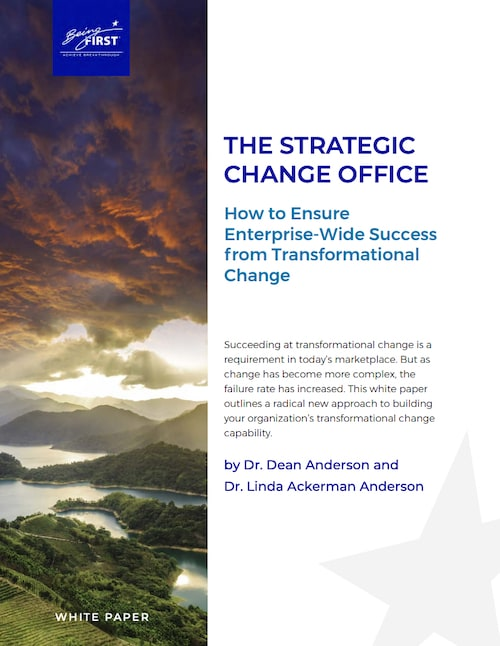 Transformational Change: How to Ensure Enterprise-Wide Success